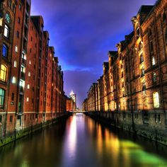 size: Stretched Canvas Print: Speicherstadt Hamburg Germany : Entertainment Using advanced technology, we print the image directly onto canvas, stretch it onto support bars, and finish it with hand-painted edges and a protective coating. Budget Planer, Hamburg Germany, Painting Edges, Stretched Canvas Prints, Vivid Colors, Giclee Print, Around The Worlds, In This Moment, Places