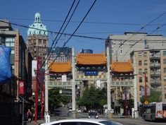 Chinatown Vancouver, British Columbia, Canada, Summer Holiday, August, 2014.