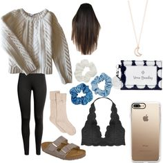 A fashion look from March 2018 featuring Anine Bing sweaters, Humble Chic bras and UGG socks. Browse and shop related looks.