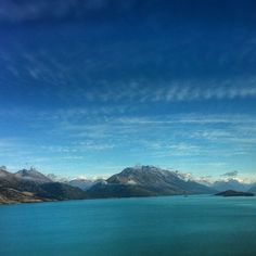 Queenstown mountains, New Zealand. Via @I am Marie. Instagram