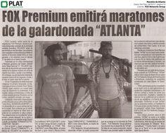 FOX Networks Group: Maratón de Atlanta en el diario Del País de Perú (18/01/17)