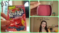 How to Make Lip Balm Out of Kool-Aid!!!