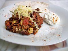 Μεξικάνικο Τσίλι με κιμά