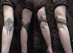 tattoo gallery armband tattoo designs cool elbow armband tattoo grey