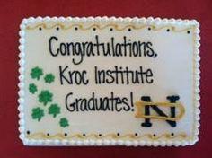 Notre Dame Graduation 2013 #cake #notre dame