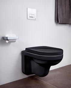 Vegghengt toalett Artic 4330 – svart