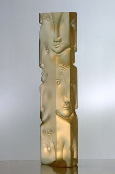 Baccarat 'Totem of Faces'