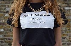 Ballinciaga Harlem T-Shirt