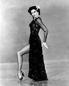 Cyd Charisse.g. Now THAT's how you work a leg (Angelina, take note)