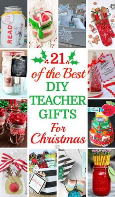 21 DIY Teacher Gifts