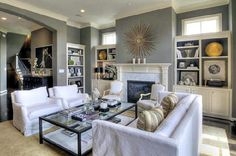turquoise and gray living room  | Interior Design Trends for 2012 - The Interiors Directory