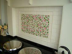 Wellbeck tiles hob splashback