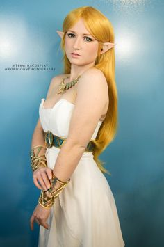 Termina Cosplay as Princess Zelda from Breath of the Wild....