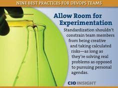DevOps Best Practices: Allow Room for Experimentation