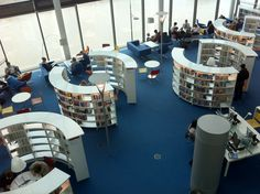 """really substantial """"returned books"""" shelves to really open up the serendipity of libraries  http://media-cache-ec3.pinterest.com/upload/229472543483643654_imas3FFd.jpg"""