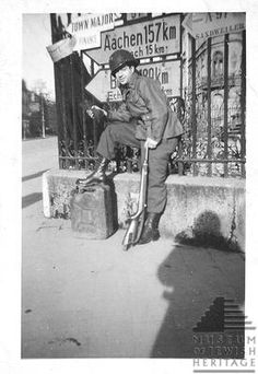 For Veterans Day, WWII soldier Arthur Minsley who fought in France, Luxembourg & Belgium.