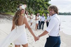 Walking hand-in-hand at a beach wedding will form a strong bond that lasts a lifetime. Island resorts throughout the Caribbean will cater exactly to your every need. Consider St. Thomas or St. Johns and two prime locations to consider. They are equipped with all the amenities and some of the most beautiful scenery in the world.