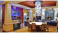 Baltimore Ravens -Elvis Dumervil moved quickly to part ways with his ultramodern Castle Rock, CO, property. The home features at least four built-in fish tanks by my count – one in the kitchen, one in the living room, one running down a hallway and yet another in the theater room. The talented pass rusher is asking a cool $2.7 million for the 6,200-square-foot home.