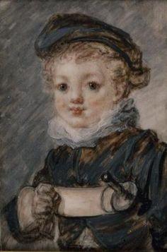 Jean-Honoré Fragonard - Le petit escrimeur