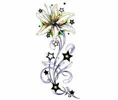 Star Flower - Flower Tattoo Design | TattooTemptation