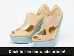 3D-geprinte schoenen - Vrouwen.nl