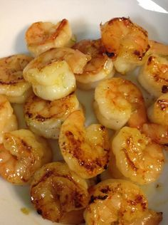 Honey Lime Shrimp - The most amazing ingredients in one bite. (Serve over brown rice with veggies or add to a salad.)