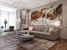 Large Wall Art For Living Rooms | Living Room Ideas | Home Decor Ideas | Modern Sideboards | Luxury Furniture | Find more in www.bocadolobo.com/en