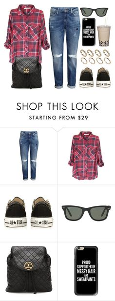 """Style #11251"" by vany-alvarado ❤ liked on Polyvore featuring H&M, Converse, Ray-Ban, Chanel, Casetify and ALDO"