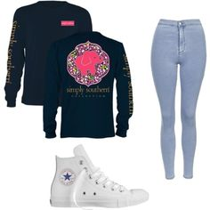 casual. by mackenziemoring on Polyvore featuring polyvore fashion style Topshop Converse