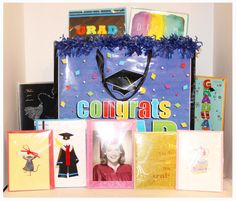Graduation Cards!  Let us help you express the joy you have for your loved one who will be receiving that well-earned diploma or moving up a grade! We carry a large selection of graduation cards that will make them feel special on their big day. From sentimental, cute to even funny, we've got it all.