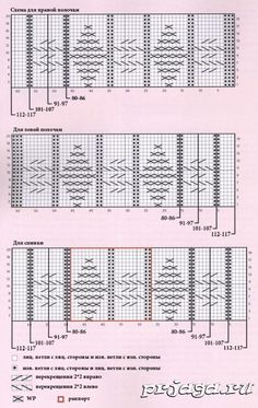 Вязание жакетов схемы