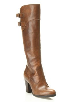 'Born' Boot In Brown Leather.