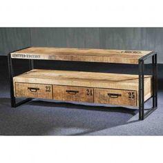 DOK 2 - Het Woonwarenhuis TV Dressoir Industrie 150 cm - TV-meubels - Opbergen