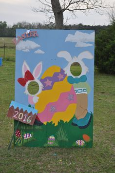 Easter Photo Board 2016