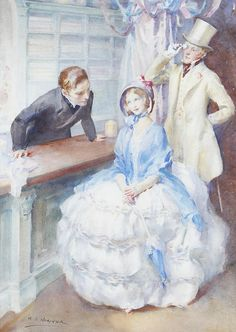 Walter Ernest Webster (1878-1959) - At the Haberdashers