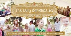 The Duty Chronicles --Christian mom and homeschooler. Some fun stuff on there. I love the Christmas advent idea she has.