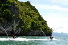 Explore the 99 islands in Langkawi in an adrenalin-fuelled jet ski tour!