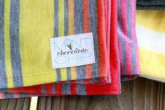 Ombré Sunset Swaddle Cotton Knit Stretch by Mint Chocolate Chip Co