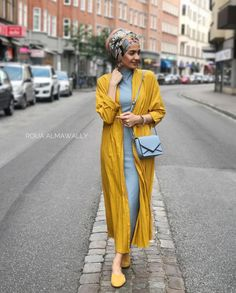Trendy Turban Hijab Fashion with Kimono for Hijabie Girls – Girls Hijab Style & Hijab Fashion Ideas Modern Hijab Fashion, Street Hijab Fashion, Islamic Fashion, Muslim Fashion, Modest Fashion, Hijab Fashion Summer, Turban Hijab, Turban Mode, Hijab Dress