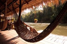 River Kwai Jungle Rafts: worth spending a night there for sure!