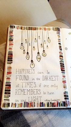 Harry Potter quote bullet journal albus dumbledore