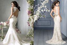 Vestidos de noiva para o verão - Decotes e rendas - Para Casamento