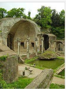 Hadrians Villa ruins, Italy