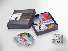 Für Groß und Klein. Box mit Memory-Karten. Individuelle Spiele, abgestimmt auf den Kunden. • #Dinkhauser Kartonagen • #Karton • #Exklusivverpackung Usb Flash Drive, Packaging, Games, Cards, Usb Drive