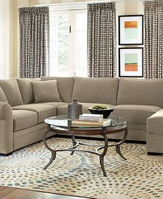 Devon Fabric Sectional Living Room Furniture Collection - furniture - Macys