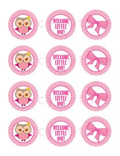 Instant Download  Baby Shower  Welcome by FoxyCouturePaperCuts, $4.00