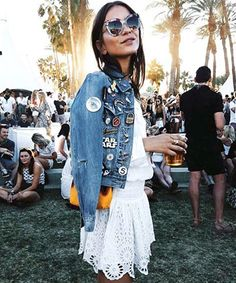 Summer Outfit Idea #1: Patched-Up Denim