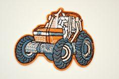 1 stk   Traktor tøymerker
