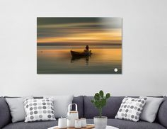 Discover «Fisherman 01», Numbered Edition Aluminum Print by José Luis  Vilar Jordán - From 55€ - Curioos