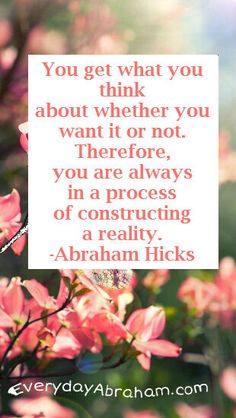 Abraham Hicks - Constructing Reality